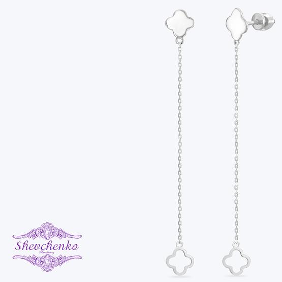 Сережки срібні висячі  арт. 788