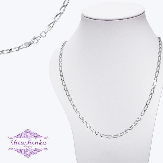 Серебряная цепь Фп-100